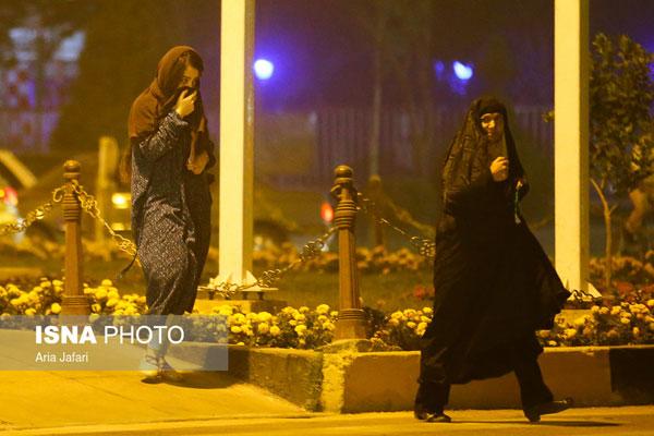گرد و غبار در اصفهان