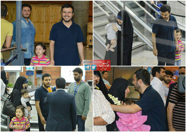 بازگشت محسن دهنوى به ایران