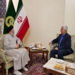 دیدار فرهاد رهبر رئیس جدید دانشگاه آزاد با ابراهیم رئیسی