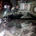 واژگونی تریلر حاوی قیر در محور تهران – دماوند!