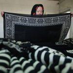 در کارخانه تولید روسری چه خبر است؟