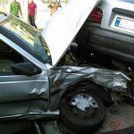 تصادف زنجیرهای 5 خودروی سورای در تهرانپارس!