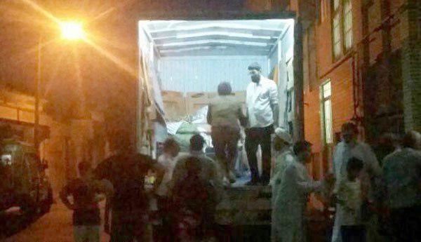 انتقال زن ۳۰۰ کیلویی به بیمارستان