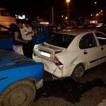تصادف زنجیرهای ۶ خودرو در جاده خاوران