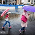 باران تابستانی تهران را ببینید!