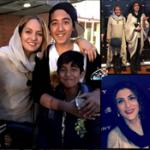مهناز افشار و ویشکا آسایش در جمع ایرانیان خارج از کشور!