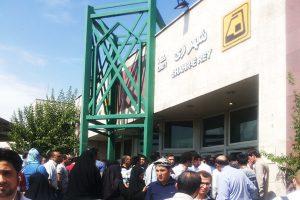 نخستین تصویر از روحانی آسیبدیده در حادثه امروز مترو شهرری (۱۴+)