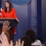 سارا سندرز سخنگوی جدید کاخ سفید شد