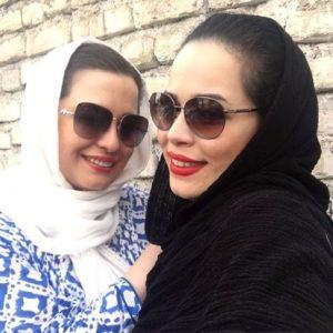 مهراوه و ملیکا شریفی نیا به همراه مادرشان در اکران یک فیلم!