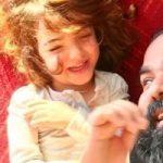 عکس های زیبای دختران رضا صادقی با نام های تیارا و ویانا