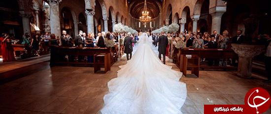 لباس عروس گرانقیمت