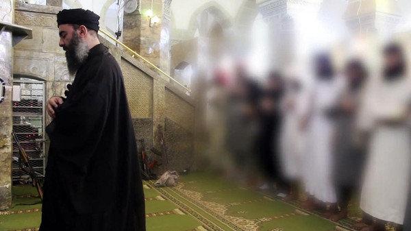 زنده بودن ابوبکر البغدادی در رقه