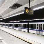 باز هم حادثه در مترو؛ خودکشی ناکام یک زن در میرداماد!