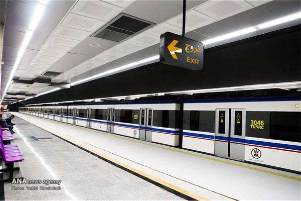 خودکشی ناکام در متروی میرداماد