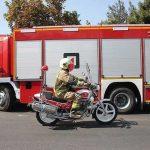 واژگونی خودرو آتش نشانی مشهد حین ماموریت