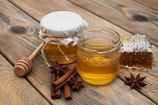 فواید مصرف عسل و دارچین
