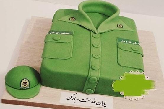 کیک پایان خدمت سربازی