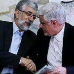 حداد عادل و محمدرضا عارف در بیمارستان!
