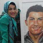 کریستیانو رونالدو باید این دختر ایرانی را ببیند!