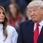 راز رنگ لباس ملانیا و ترامپ در سفر فرانسه چه بود؟!