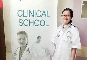 جوانترین پزشک مالزی