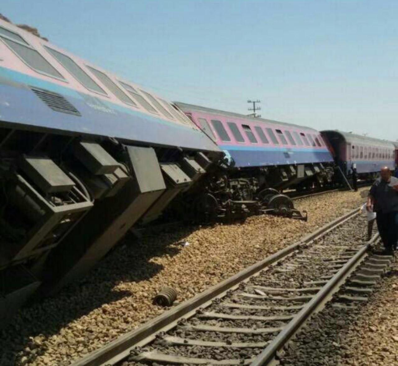 زمان حرکت قطار ایستگاه کارون اهواز واژگونی قطار مسافری اهواز – مشهد!