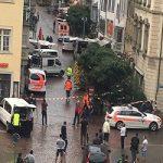 حمله با اره برقی به مردم در سوئیس!!