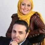 پدرام کریمی و همسرش یاسمن در اکران کارگرد ساده نیازمندیم