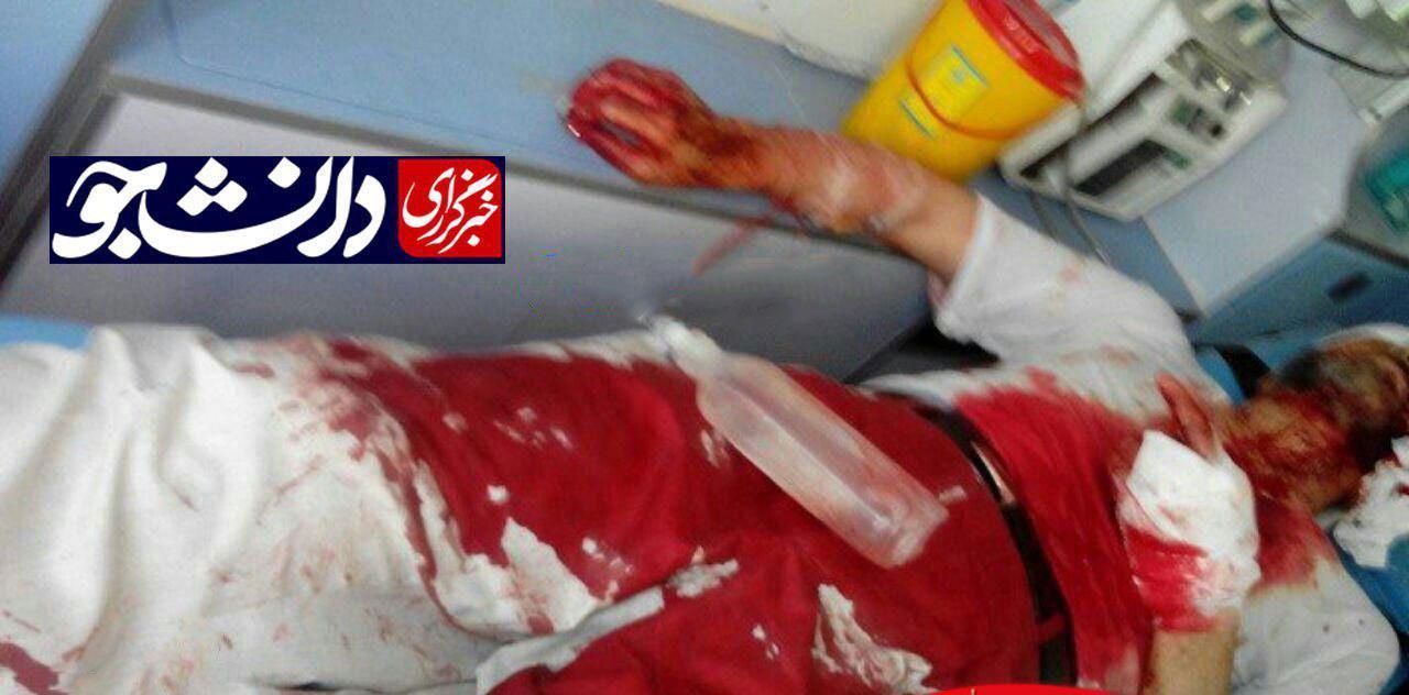 روحانی آسیبدیده در حادثه شهرری