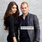 عکس وسلی اسنایدر و همسرش یولانته کابائو