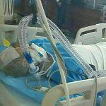 روحانی مضروب متروی شهرری در بیمارستان