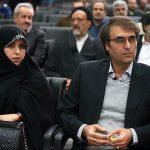زن علی اشراقی نوه امام خمینی (ره) در کنسرت سیروان خسروی