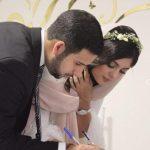 مراسم عروسی نیوشا افشار برگزار شد!