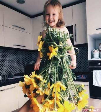 لباس های یک مادر برای دخترش