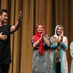جشن فیلمبرداری آینه بغل با کنسرت محمدرضا گلزار