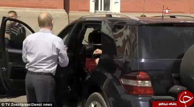 زن مرموز در زندگی پوتین