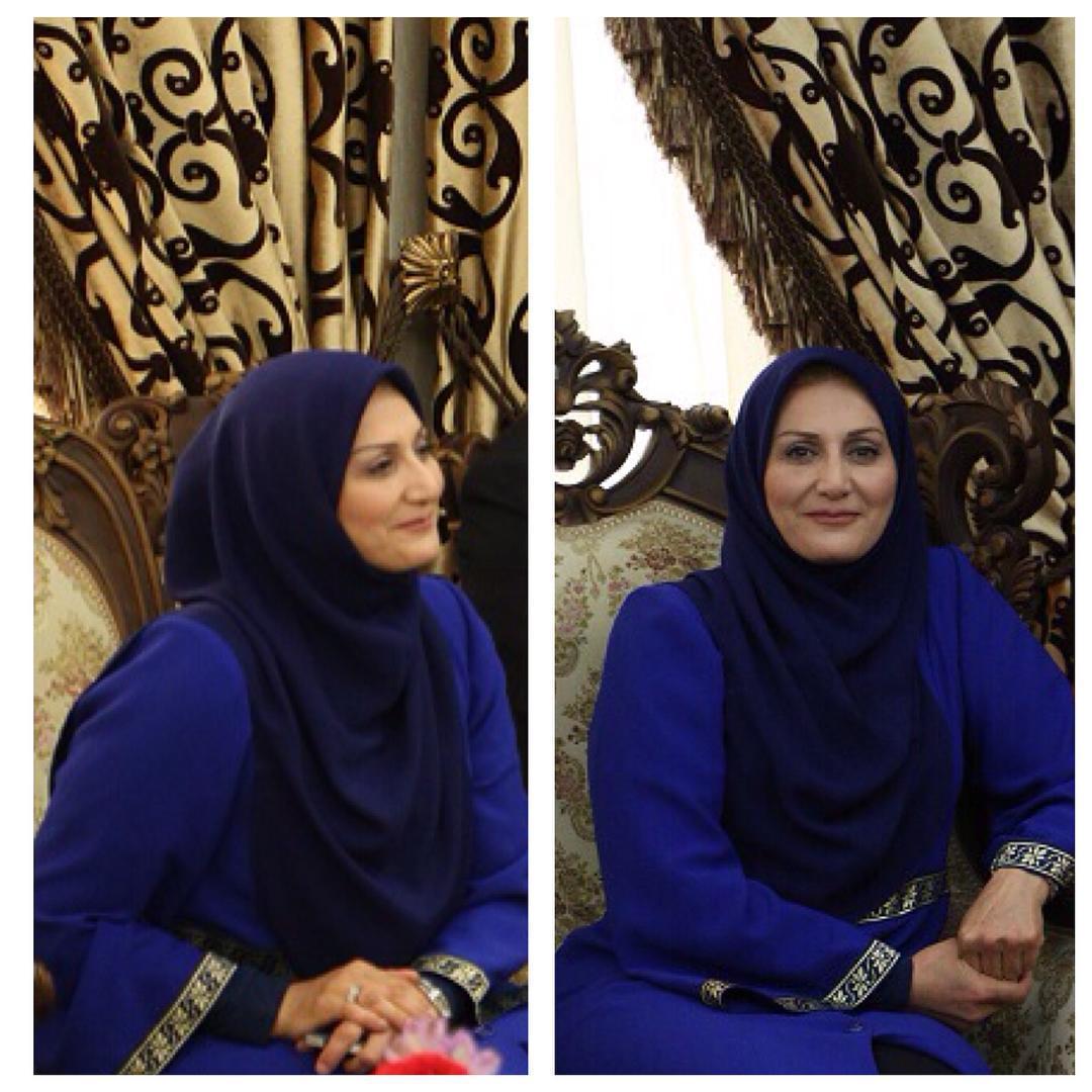 ماشین سواری متفاوت سوسن حسنی دخت گوینده خبر!
