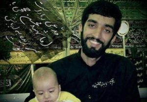 حضور فرمانده کل سپاه در منزل پدری شهید حججی
