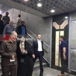 مترو سواری اعضای جدید شورای شهر تهران!