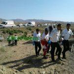 27 مجروح در واژگونی اتوبوس مسافربری اصفهان – مشهد