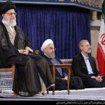 دختران امام خمینی(ره) در مراسم تنفیذ روحانی