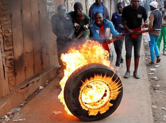 آشوب پس از انتخابات در کنیا