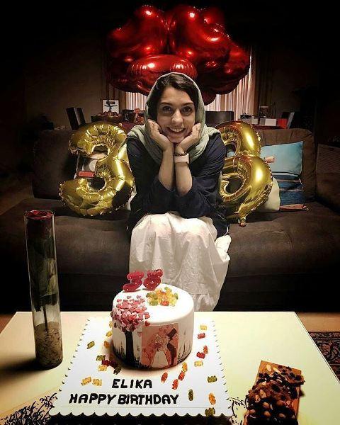 جشن تولد 38 سالگی الیکا عبدالرزاقی