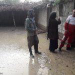 امدادرسانی به سیلزدگان در باغملک به روایت تصاویر