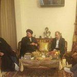عیادت سید حسن خمینی، محمد علی نجفی از عارف
