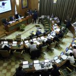 عکس یادگاری اعضای شورای شهر تهران در آخرین جلسه