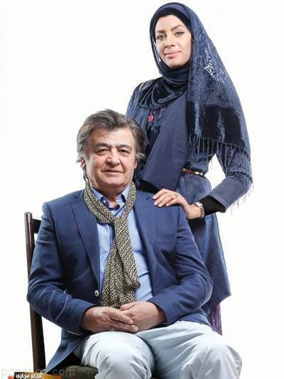 رضا رویگری و همسر جوانش