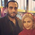 یاسمینا باهر و همسرش امیریل ارجمند در کنار برج ایفل پاریس!