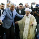 دیدار رئیس مجلس سنای پاکستان با آیت الله جنتی