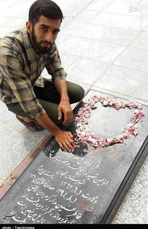 آخرین عکس های شهید محسن حججی